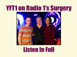 YFT1 on Radio 1's Surgery
